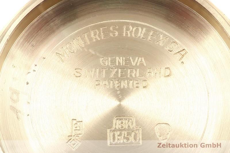gebrauchte Luxusuhr Rolex Date 18k Gold Automatik Kal. 2030 Ref. 6827 VINTAGE  | 2000341 _0