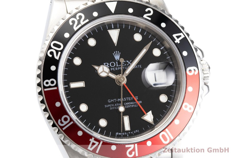 Usato di orologi di lusso Rolex GMT Master II acciaio automatismo Kal. 3185 Ref. 16710  | 2000346 _0