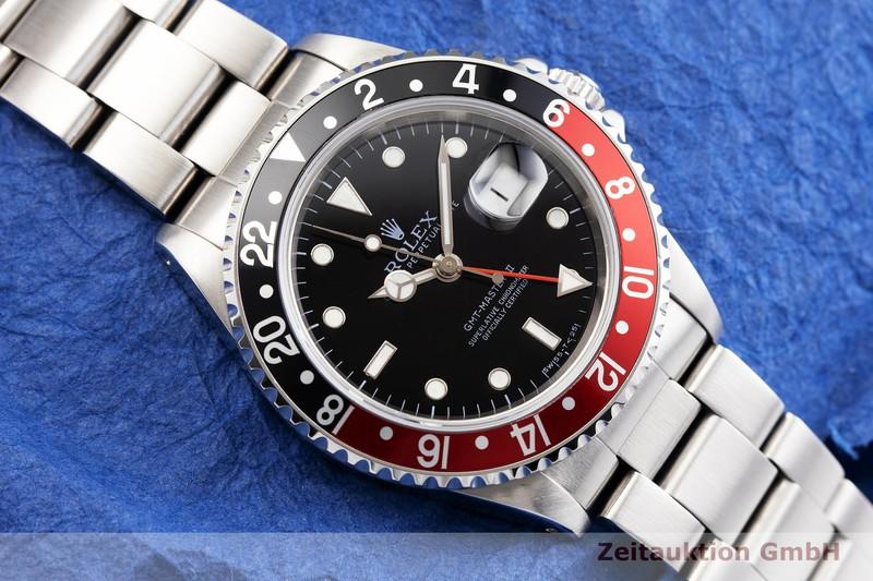 Usato di orologi di lusso Rolex GMT Master II acciaio automatismo Kal. 3185 Ref. 16710  | 2000346 _1
