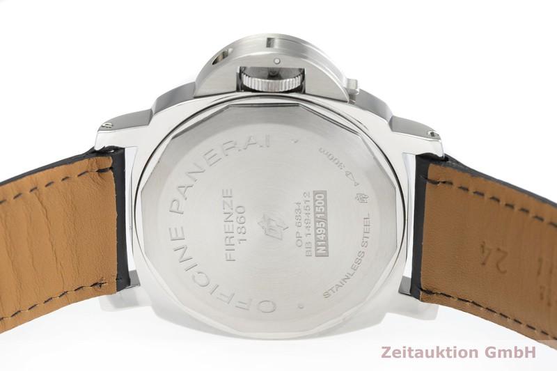 gebrauchte Luxusuhr Panerai Luminor  Stahl Handaufzug Kal. ETA 6497-2 Ref. OP6834 LIMITED EDITION | 2000403 _0