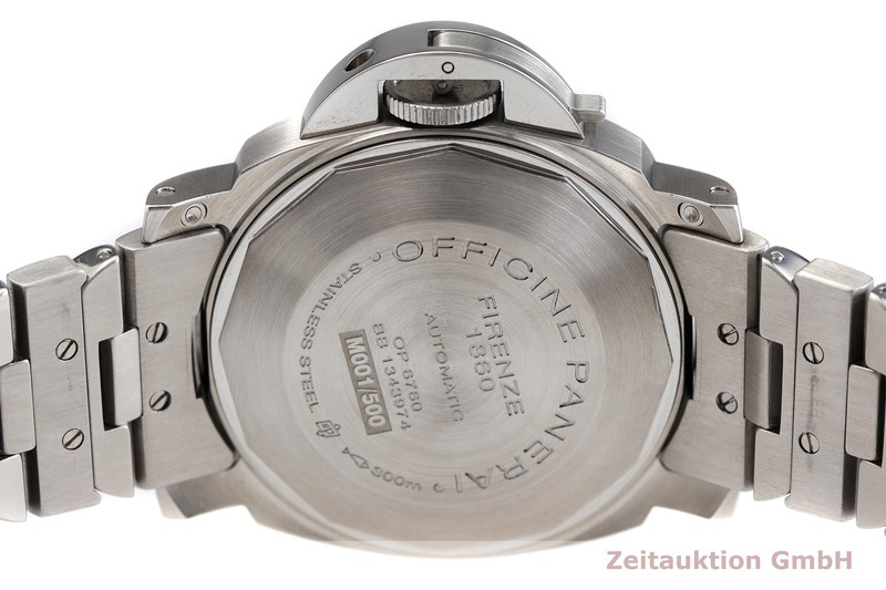 gebrauchte Luxusuhr Panerai Luminor Marina Stahl Automatik Kal. OPIII, ETA A05.511 Ref. OP6760 LIMITED EDITION | 2000415 _0