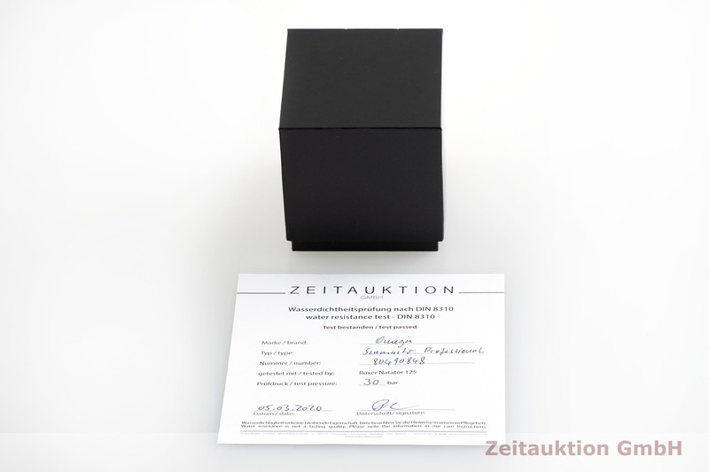 gebrauchte Luxusuhr Omega Seamaster Stahl Automatik Kal. 1120 Ref. 168.1626 LIMITED EDITION   2000421 _0