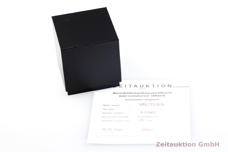 gebrauchte Luxusuhr Breitling Superocean Stahl Automatik Kal. B17, ETA 2824-2 Ref. A17360  | 2000450 _0