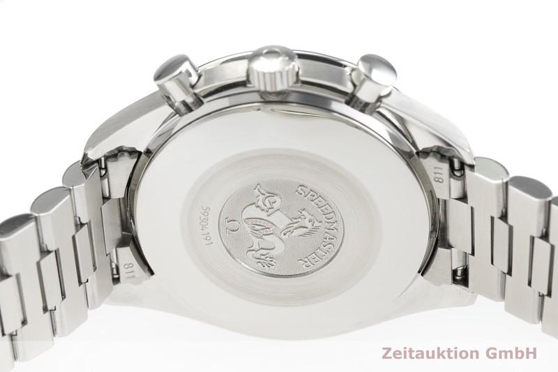 gebrauchte Luxusuhr Omega Speedmaster Chronograph Stahl Automatik Kal. 3220 Ref. 175.0032  | 2000487 _0