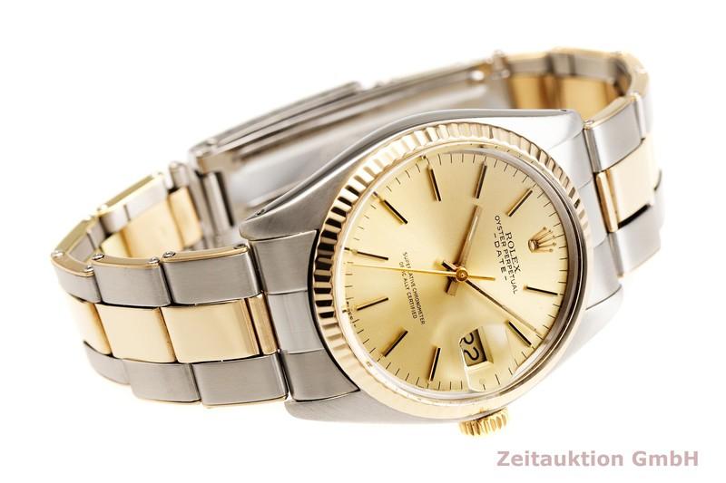 gebrauchte Luxusuhr Rolex Date Stahl / Gold Automatik Kal. 1570 Ref. 1500 VINTAGE  | 2000497 _0