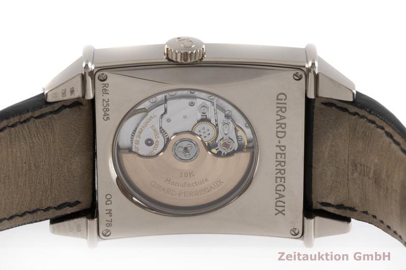 gebrauchte Luxusuhr Girard Perregaux Vintage 18k Weissgold Automatik Kal. 4000-0004 Ref. 25845    2000516 _0