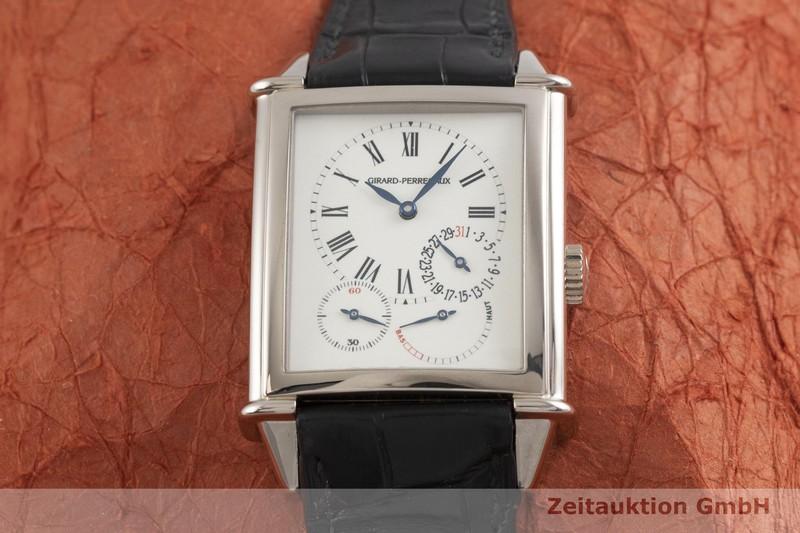 gebrauchte Luxusuhr Girard Perregaux Vintage 18k Weissgold Automatik Kal. 4000-0004 Ref. 25845    2000516 _1