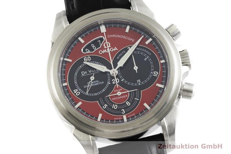 gebrauchte Luxusuhr Omega De Ville Chronograph Stahl Automatik Kal. 3313B Ref. 4851.61.31, 178.1744    2000524 _0