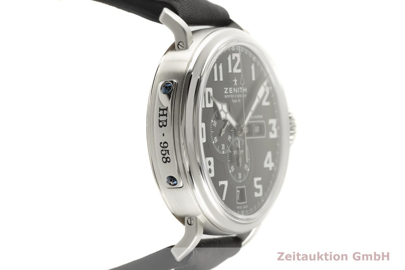 gebrauchte Luxusuhr Zenith Pilot Chronograph Stahl Automatik Kal. 4054 Ref. 03.2430.4054/21.C721  | 2000534 _0