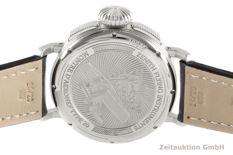 gebrauchte Luxusuhr Zenith Pilot Chronograph Stahl Automatik Kal. 4054 Ref. 03.2430.4054/21.C721  | 2000534 _1