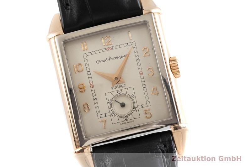 gebrauchte Luxusuhr Girard Perregaux Vintage 18k Rotgold Handaufzug Kal. 2300-519 Ref. 2595  | 2000545 _0
