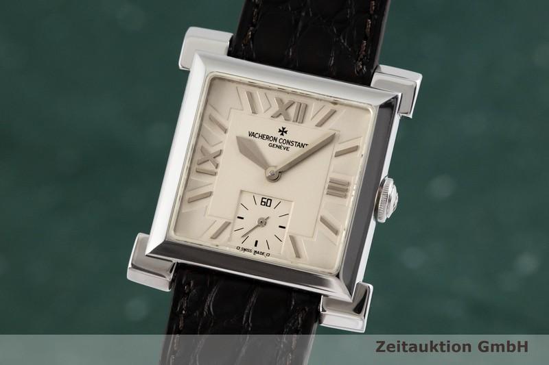 gebrauchte Luxusuhr Vacheron & Constantin Historiques 18k Weissgold Handaufzug Kal. 1017 Ref. 91030 LIMITED EDITION | 2000561 _0