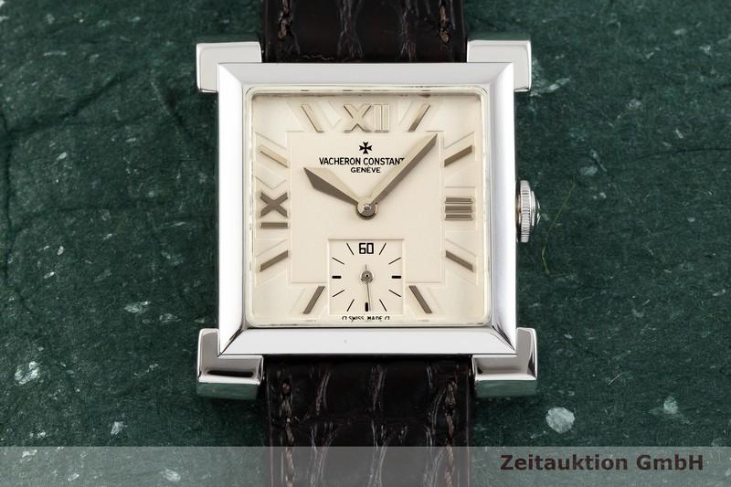 gebrauchte Luxusuhr Vacheron & Constantin Historiques 18k Weissgold Handaufzug Kal. 1017 Ref. 91030 LIMITED EDITION | 2000561 _1