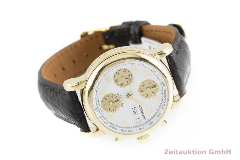 gebrauchte Luxusuhr Montblanc 4810 Chronograph Chronograph 18k Gold Automatik Kal. 4810.501, ETA 7750 Ref. 7000  | 2000566 _0