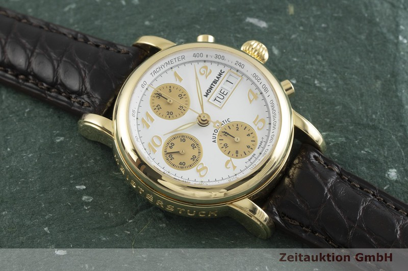 gebrauchte Luxusuhr Montblanc 4810 Chronograph Chronograph 18k Gold Automatik Kal. 4810.501, ETA 7750 Ref. 7000  | 2000566 _1