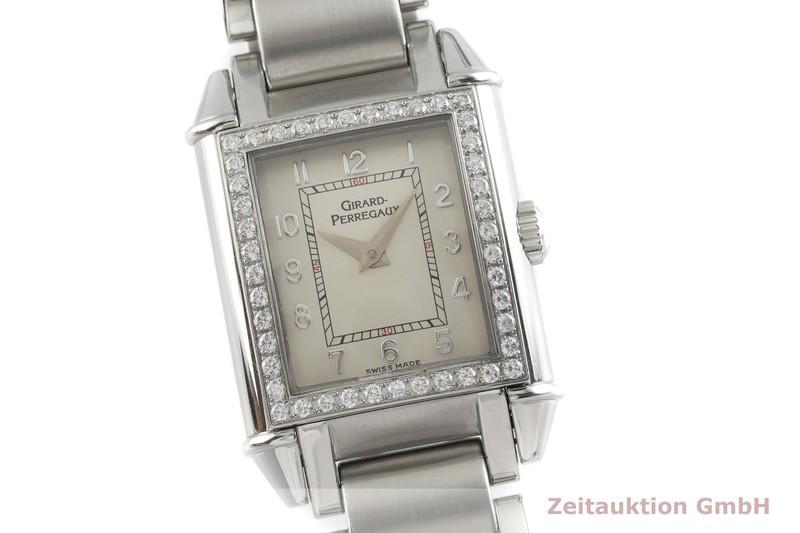 gebrauchte Luxusuhr Girard Perregaux Vintage Stahl Quarz Kal. 711-1-805 Ref. 2592    2000602 _0