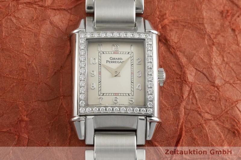 gebrauchte Luxusuhr Girard Perregaux Vintage Stahl Quarz Kal. 711-1-805 Ref. 2592    2000602 _1