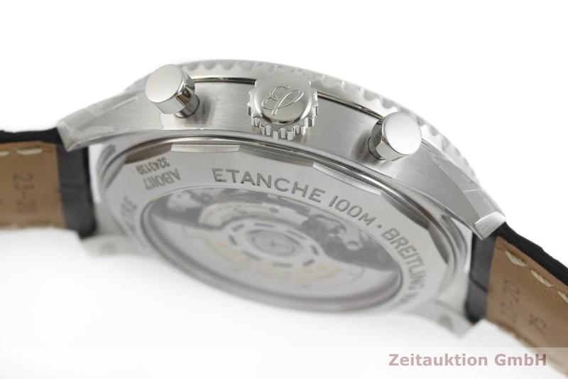 gebrauchte Luxusuhr Breitling Navitimer Chronograph Stahl Automatik Kal. B01 Ref. AB0117  | 2000609 _0