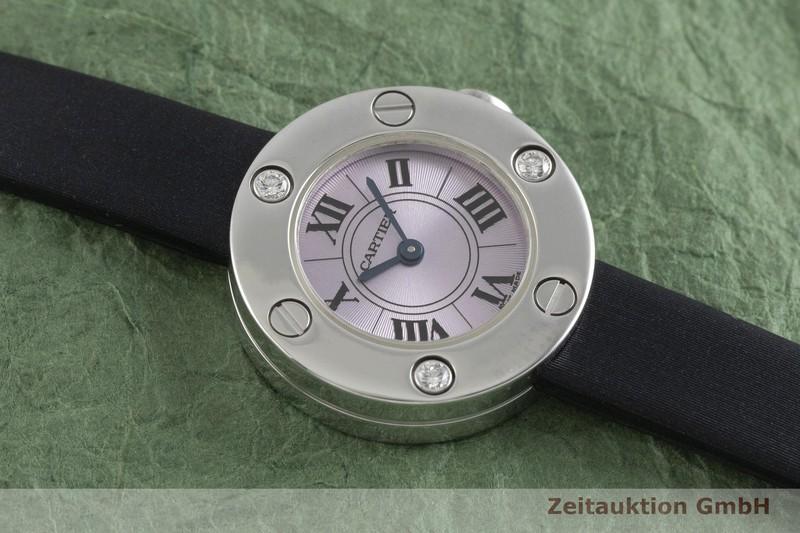 gebrauchte Luxusuhr Cartier Love 18k Weissgold Quarz Kal. 157 Ref. 2974    2000616 _1