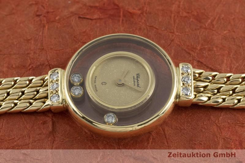 gebrauchte Luxusuhr Chopard Happy Diamonds 18k Gold Quarz Kal. ETA 101.001 Ref. G4578  | 2000618 _0