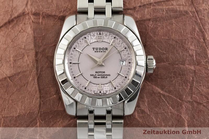 gebrauchte Luxusuhr Tudor Classic Date Stahl Automatik Kal. ETA 2671 Ref. 22010  | 2000638 _1
