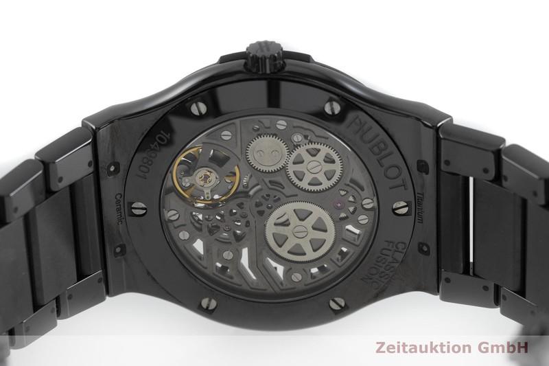 gebrauchte Luxusuhr Hublot Classic Fusion Keramik / Titan Handaufzug Kal. 1300 Ref. 515.CM.0140.LR  | 2000644 _0