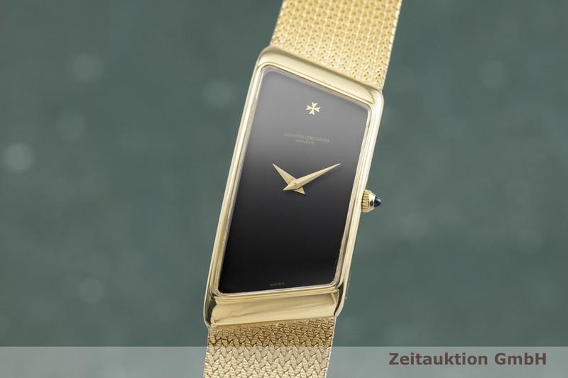gebrauchte Luxusuhr Vacheron & Constantin Prestige De La France 18k Gold Handaufzug Kal. 1052 Ref. 35202    2000646 _0