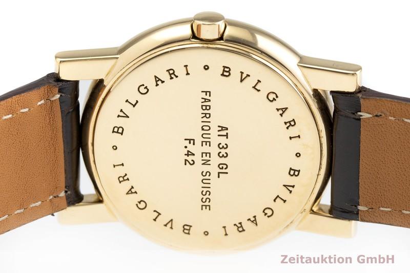 gebrauchte Luxusuhr Bvlgari Anfiteatro 18k Gold Quarz Kal. T32-92 Ref. AT33GL  | 2000664 _0