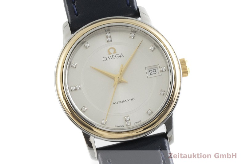 gebrauchte Luxusuhr Omega De Ville Stahl / Gold Automatik Kal. 725, ETA 2000V8 Ref. 566.1050    2000667 _0