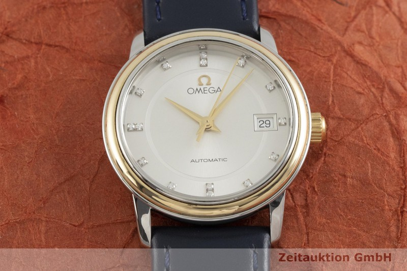 gebrauchte Luxusuhr Omega De Ville Stahl / Gold Automatik Kal. 725, ETA 2000V8 Ref. 566.1050    2000667 _1