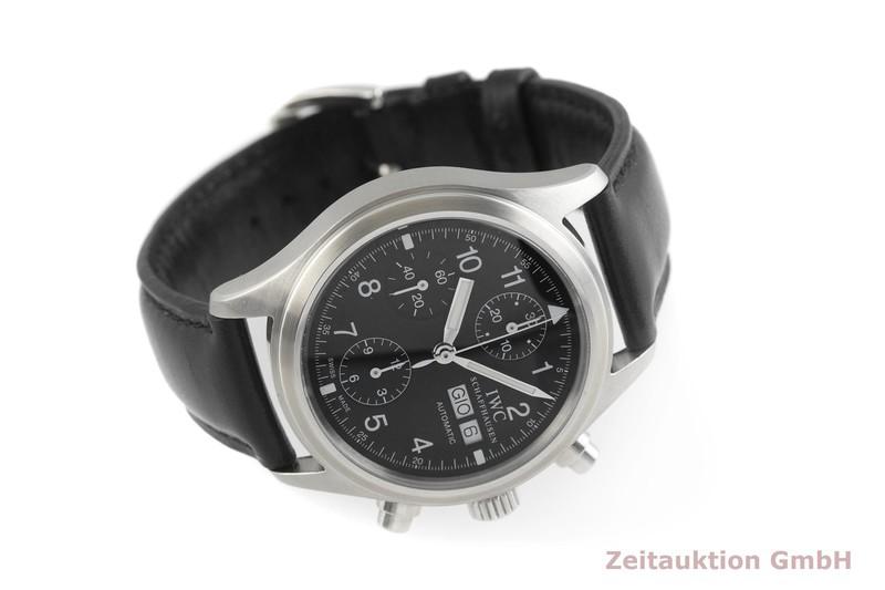 gebrauchte Luxusuhr IWC Fliegerchronograph Chronograph Stahl Automatik Kal. C.7922 Ref. 3706  | 2000670 _0