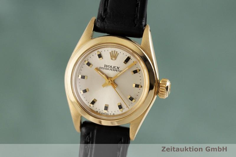 gebrauchte Luxusuhr Rolex Oyster Perpetual 18k Gold Automatik Kal. 1130 Ref. 6618  | 2000674 _0