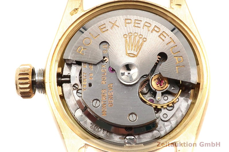 gebrauchte Luxusuhr Rolex Oyster Perpetual 18k Gold Automatik Kal. 1130 Ref. 6618  | 2000674 _1