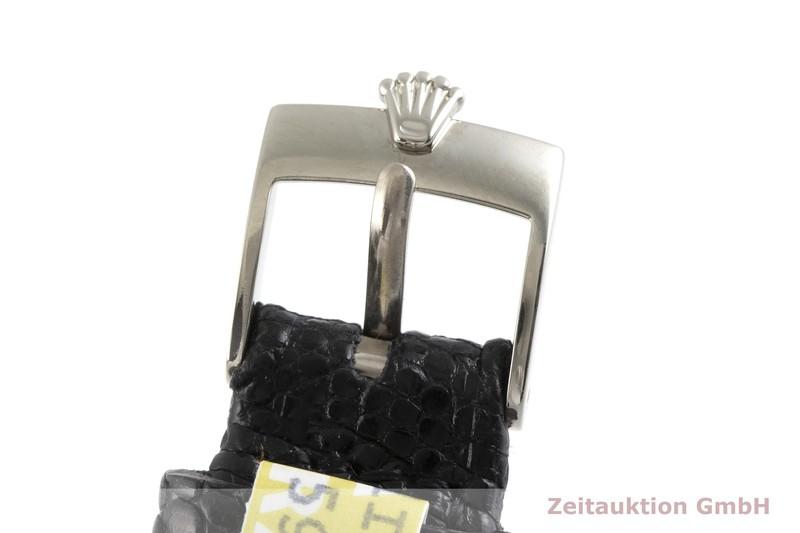 gebrauchte Luxusuhr Rolex Cellini 18k Weissgold Quarz Kal. 6620 Ref. 6229  | 2000680 _1