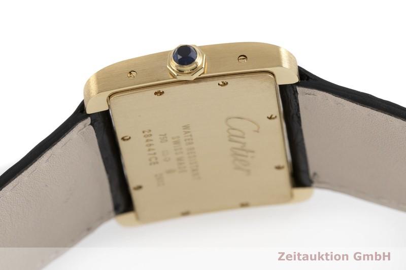 gebrauchte Luxusuhr Cartier Tank Divan 18k Gold Quarz Kal. 690 Ref. 2602  | 2000682 _0