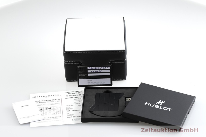 gebrauchte Luxusuhr Hublot Big Bang Chronograph Keramik / Titan Automatik Kal. ETA 7750 Ref. 301.GI.5290.RG LIMITED EDITION | 2000713 _0