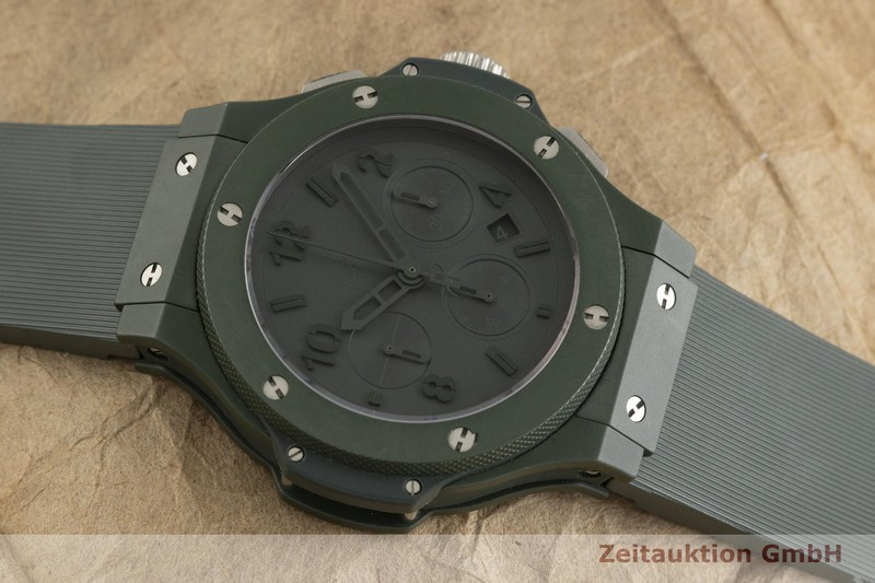 gebrauchte Luxusuhr Hublot Big Bang Chronograph Keramik / Titan Automatik Kal. ETA 7750 Ref. 301.GI.5290.RG LIMITED EDITION | 2000713 _1