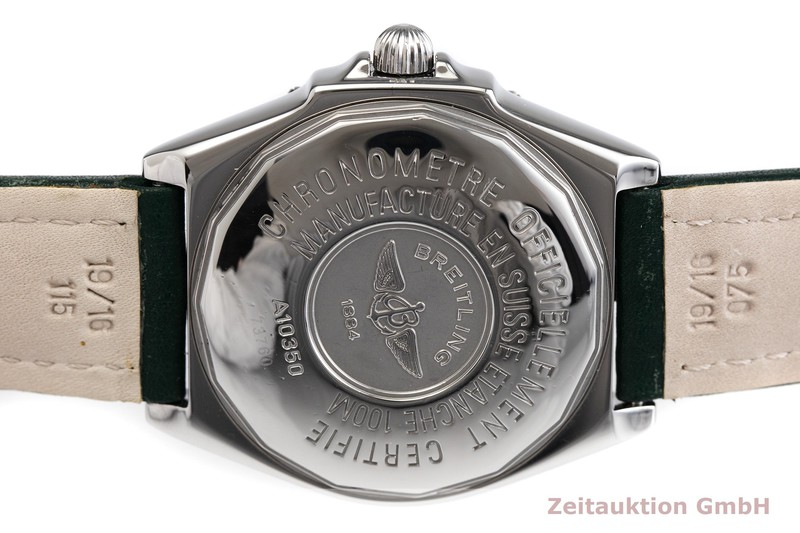 二手奢侈品腕表 Breitling Wings 钢质 自动上弦机芯 Kal. B10, ETA 2892-A2 Ref. A10350    2000717 _0