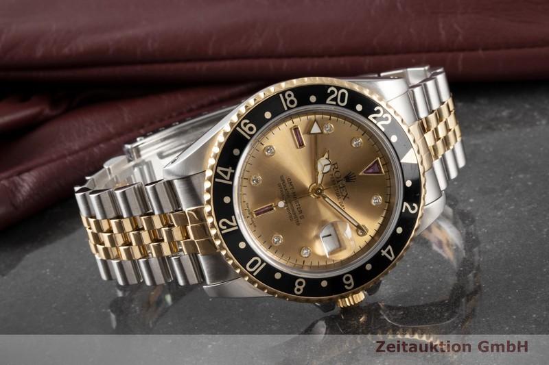 gebrauchte Luxusuhr Rolex GMT Master II Stahl / Gold Automatik Kal. 3185 Ref. 16713  | 2000726 _1