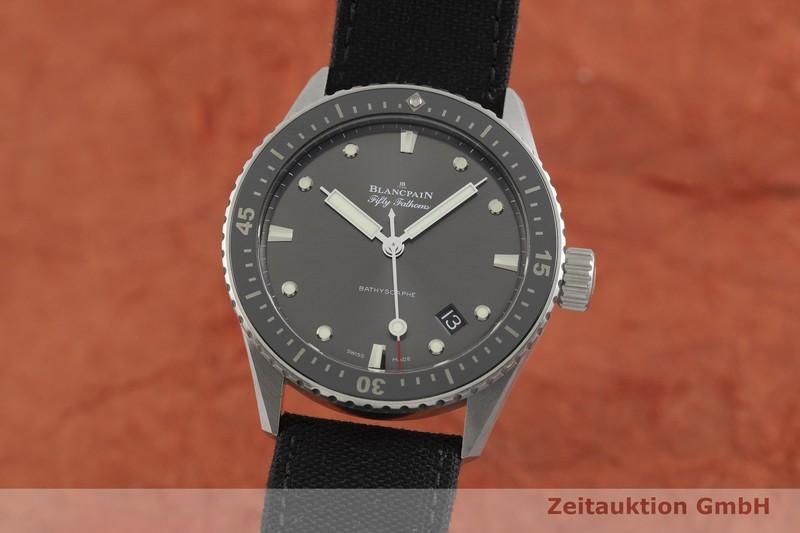 gebrauchte Luxusuhr Blancpain Fifty Fathoms Stahl Automatik Kal. 1315 Ref. 5000-1110  | 2000738 _0