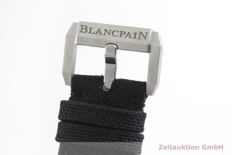 gebrauchte Luxusuhr Blancpain Fifty Fathoms Stahl Automatik Kal. 1315 Ref. 5000-1110  | 2000738 _1