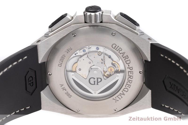 gebrauchte Luxusuhr Girard Perregaux Chrono Hawk Chronograph Stahl Automatik Kal. 3300-0073 Ref. 49970  | 2000739 _0