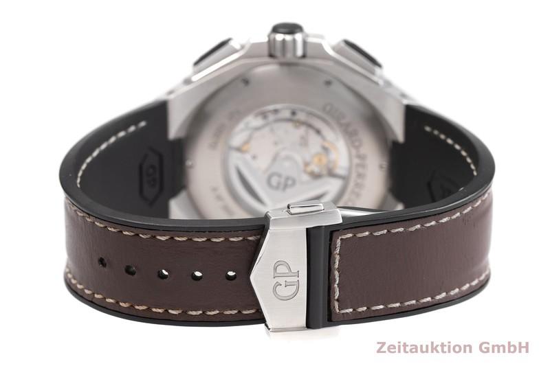 gebrauchte Luxusuhr Girard Perregaux Chrono Hawk Chronograph Stahl Automatik Kal. 3300-0073 Ref. 49970  | 2000739 _1