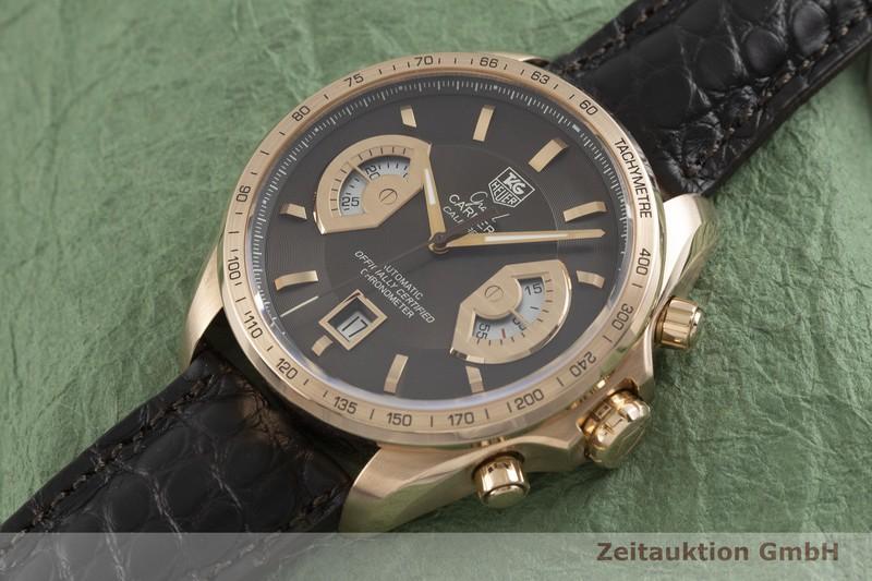 gebrauchte Luxusuhr Tag Heuer Carrera Chronograph 18k Rotgold Automatik Kal. 17, ETA 2894-2 Ref. CAV514C LIMITED EDITION | 2000740 _0