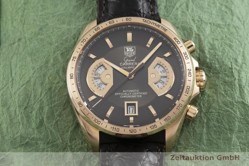 gebrauchte Luxusuhr Tag Heuer Carrera Chronograph 18k Rotgold Automatik Kal. 17, ETA 2894-2 Ref. CAV514C LIMITED EDITION | 2000740 _1