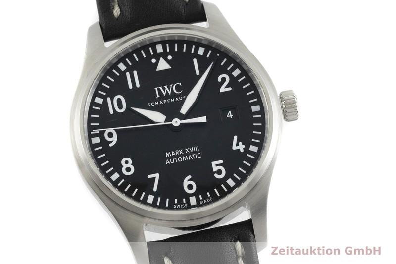 gebrauchte Luxusuhr IWC Mark XVIII Stahl Automatik Kal. C.30110 Ref. 3270  | 2000769 _0