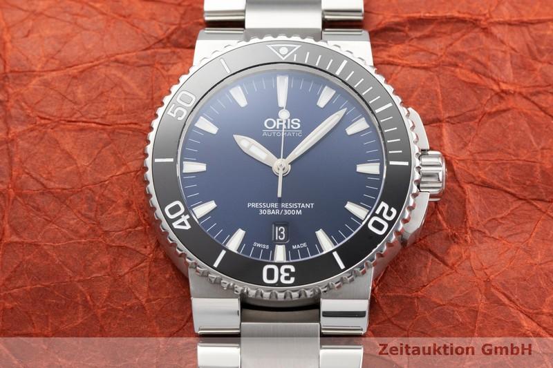 gebrauchte Luxusuhr Oris Aquis Date Stahl Automatik Kal. 733, Sellita SW 200-1 Ref. 0173376534135-0782601PEB  | 2000840 _1