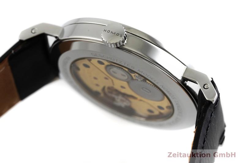 gebrauchte Luxusuhr Nomos Tangente Stahl Handaufzug Kal. Alpha LIMITED EDITION | 2000847 _0