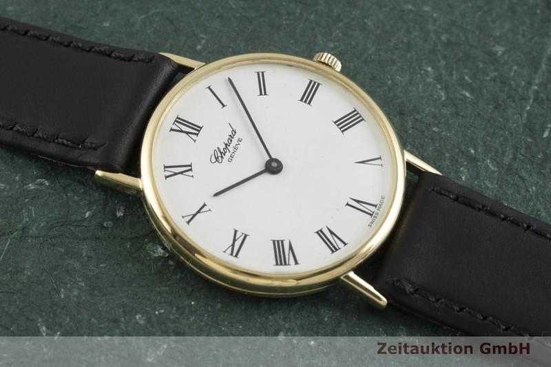 gebrauchte Luxusuhr Chopard Classic 18k Gold Quarz Kal. ETA 955.432 Ref. 1091  | 2000851 _1