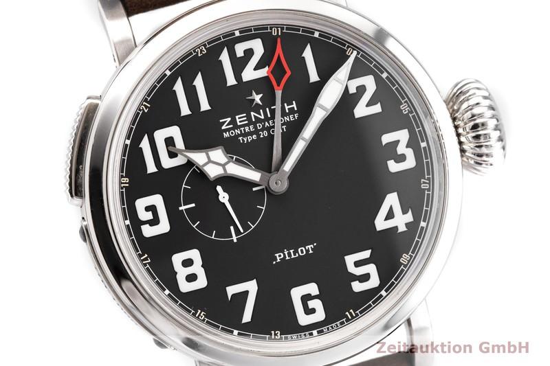 gebrauchte Luxusuhr Zenith Pilot Stahl Automatik Kal. 693 Ref. 03.2430.693  | 2000856 _0
